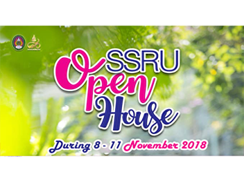 Faculty of Humanities and Social Sciences, Suan Sunandha Rajabhat University would like to invite you to SSRU Open House as 80th Anniversary